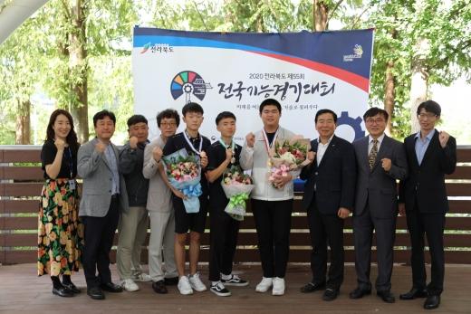 전남 나주공고, 전국기능대회서 두각… 메달 싹쓸이