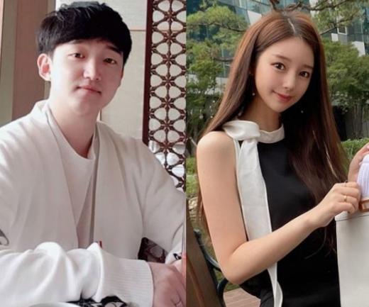 인기 웹툰 '여신강림' 야옹이 작가(본명 김나영)가 프리드로우 작가 전선욱과의 열애를 인정했다. /사진=전선욱, 야옹이 작가 인스타그램