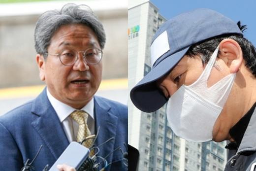 라임자산운용 사태의 배후인 김봉현 전 스타모빌리티 회장과 강기정 전 청와대 정무수석(왼쪽)의 정관계 로비에 대한 진실 공방이 이어지고 있다. /사진=뉴스1
