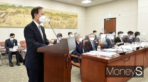 """[머니S포토] 대교협 김인철 """"대학생 재정 상황 개선 방안 모색하겠다"""""""