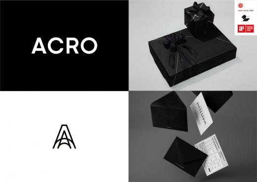 대림삼업의 아크로 BI 디자인이 세계 3대 디자인 어워드에서 모두 수상하며 그랜드 슬램을 달성했다. /사진=대림산업