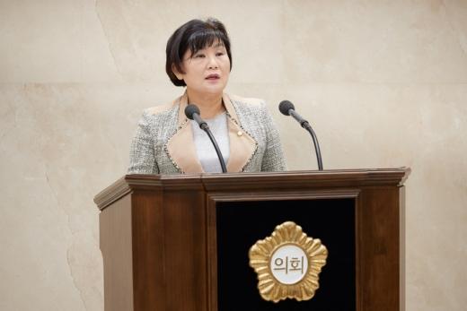 용인시의회 유향금 의원. / 사진제공=용인시의회