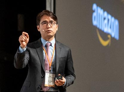 이성한 한국 아마존 글로벌 셀링 대표는 15일 온라인을 통해 '아마존 크로스보더 이커머스 서밋 2020'을 열고 아마존 2021년 비즈니스 전략을 발표했다. /사진=아마존 글로벌 셀링 제공