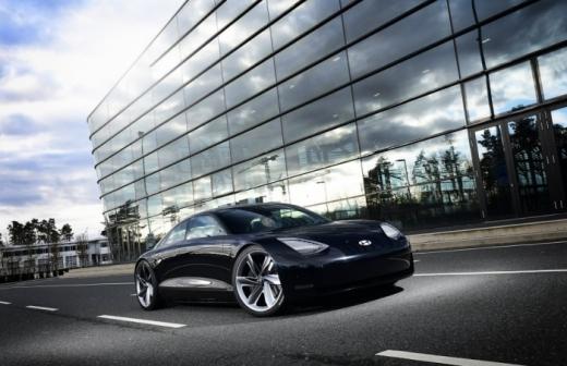 내년 현대차가 출시할 전기 스포츠카 프로페시. /사진제공=현대차