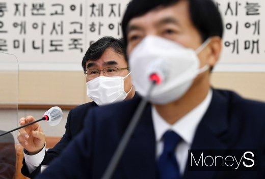 [머니S포토] 질의 답변하는 박순철 서울 남부지검장