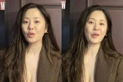 배우 고현정의 근황이 공개됐다. /사진=더블유코리아 공식 인스타그램