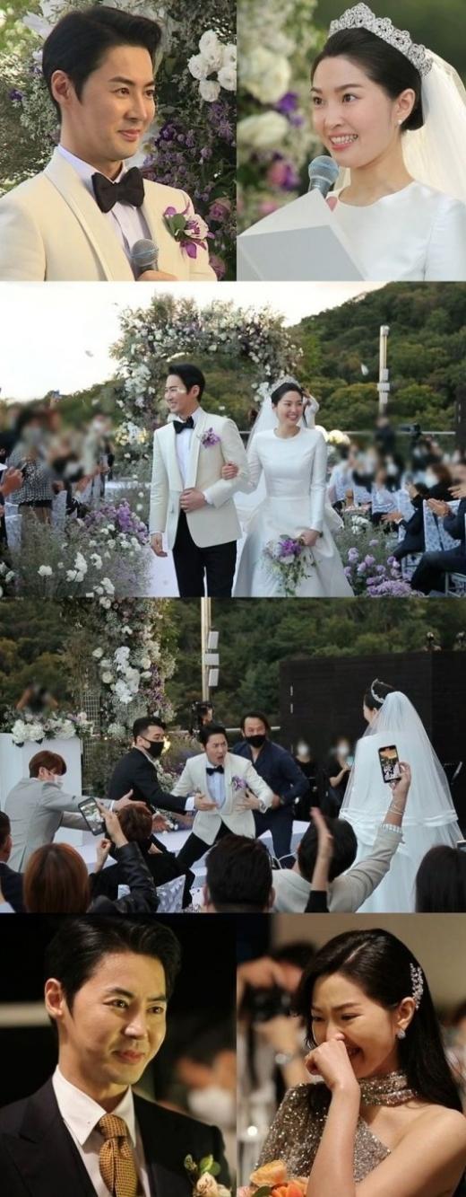 전진 류이서 부부의 결혼식 현장이 '동상이몽2'에서 최초 공개된다. /사진=sbs 제공