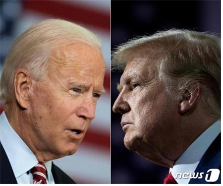 도널드 트럼프 미국 대통령이 조 바이든 후보 부자가 FBI 조사를 받아야 한다고 주장했다./사진=뉴스1