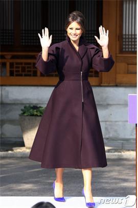 멜라니아 트럼프 여사가 대통령 선거유세에 불참하기로 했다./사진=뉴스1