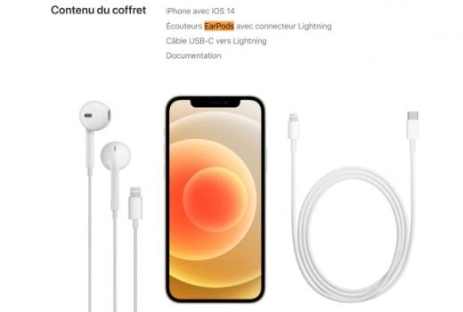 애플이 이번 아이폰 기본 패키지 구성에서 유선 이어폰인 '이어팟'를 제외한다고 밝혔다. /사진=애플 공식 홈페이지 캡처