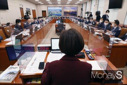 [머니S포토] 국회 국토교통위원회 종합국정감사