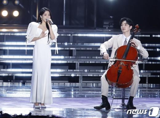 [사진] 솔라-홍진호 '환상의 무대'