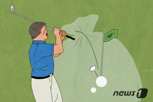 코로나 정국을 틈타 골프장들이 그린피 등 각종 사용료를 비정상적으로 올리는 행태를 개선해달라는 청원이 빗발쳤다. /사진=뉴스1