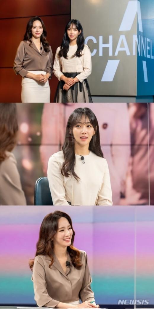 채널A '뉴스A'에 출연하는 배우 이유리. /사진제공=채널A·뉴시스