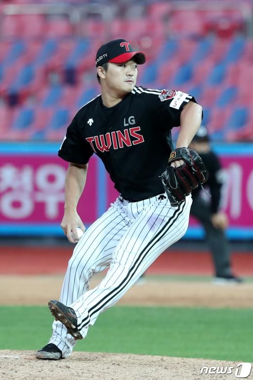 LG 트윈스 고우석 /뉴스1 © News1 조태형 기자
