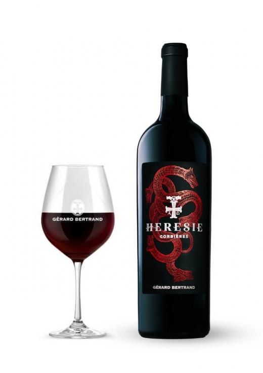 하이트진로는 29일 남프랑스 와인 명가 제라르 베르트랑의 신제품 에레지를 새롭게 선보인다고 밝혔다. /사진=하이트진로 제공