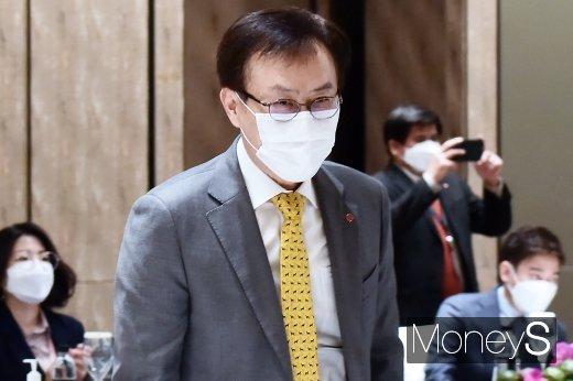 [머니S포토] 경총·아세안 대사단 간담회 참석한 김교현 사장