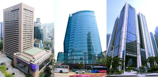 (왼쪽부터) 하나금융, NH농협금융, 우리금융/사진=각사