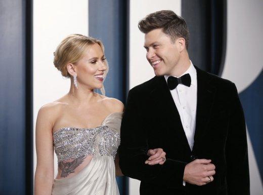 스칼렛요한슨 결혼, 'SNL'작가와 부부됐다
