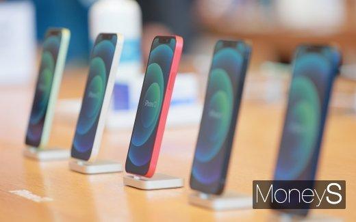[머니S포토] '고유 디자인 살린 아이폰12'