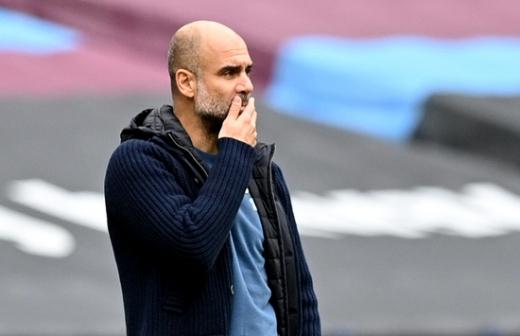 FC 바르셀로나 회장 후보가 펩 과르디올라 맨체스터 시티 감독(사진)을 다시 바르셀로나로 불러오겠다는 포부를 밝혔다. /사진=로이터