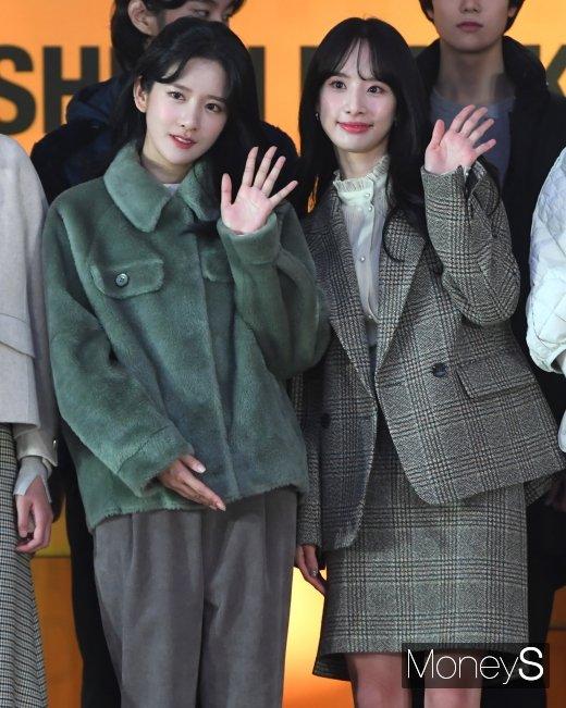 [머니S포토] 우주소녀 엑시·설아 '청순미 폭발'