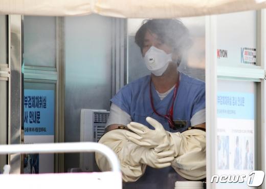 강남에 위치한 '럭키사우나'와 '헬스장' 등에서 신종 코로나바이러스 감염증(코로나19) 확진자가 발생하며 서울 지역 하루 확진자가 48명을 기록했다. /사진=뉴스1