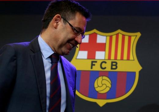 호셉 마리아 바르토메우 FC 바르셀로나 회장이 부임 이후 이적시장에서 흑자보다는 적자를 더 많이 기록한 것으로 나타났다. /사진=로이터