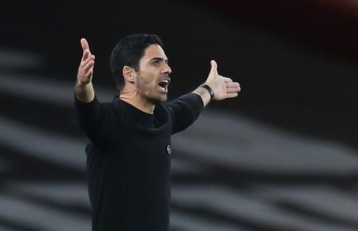 미켈 아르테타 아스널 감독이 유로파리그 승리에 만족감을 표했다. /사진=로이터