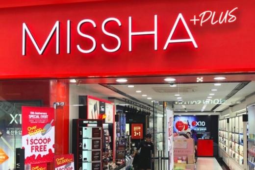 에이블씨엔씨는 미샤 전체 매장의 20%인 약 100개를 '미샤플러스'로 재정비했다. /사진=에이블씨엔씨