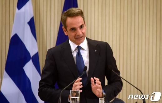키리아코스 미초타키스 그리스 총리 © AFP=뉴스1