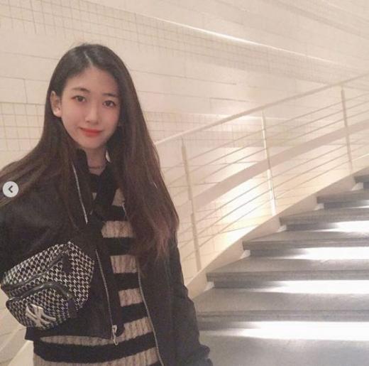 아나운서 박찬민의 딸 박민하가 폭풍 성장한 모습으로 눈길을 끌었다. /사진=박민하 인스타그램