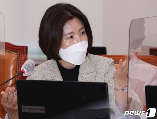 김미애 국민의힘 비상대책위원.. © News1 신웅수 기자