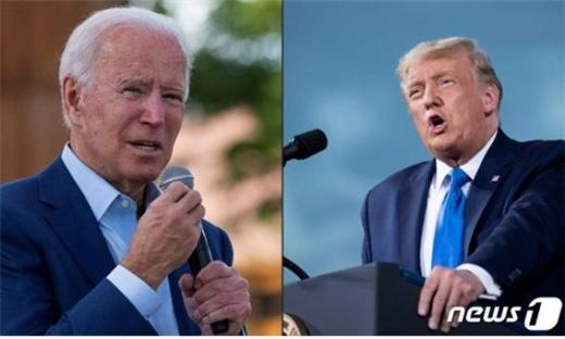 워싱턴포스트가 조 바이든 후보의 승리를 확신했다./사진=뉴스1