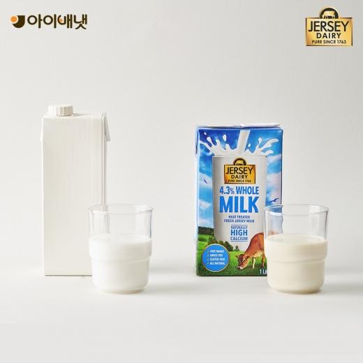아이배냇이 프리미엄 멸균우유 '저지 우유(Jersey Milk)'을 내세워 본격적인 우유 시장 공략에 나선다./사진=아이배냇