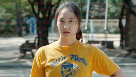 배우 정수정이 영화 '애비규환'에서 임산부 캐릭터를 맡은 소감을 밝혔다. /사진=리틀빅픽처스 제공
