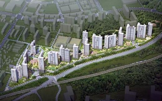문산읍 선유리 878-1번지 일원의 주택건설사업계획 조감도. / 사진제공=파주시
