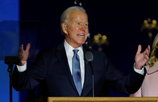 조 바이든 미국 민주당 대선 후보가 러스트벨트 지역에서 막판 맹추격을 벌이고 있다. /사진=로이터