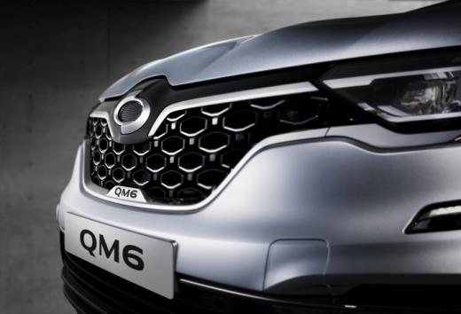 르노삼성자동차가 대표 중형 SUV QM6의 스타일 업그레이드 모델 '뉴 QM6'를 6일 출시했다./사진제공=르노삼성자동차