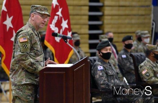 [머니S포토] 한미연합군사령부 창설 제42주년 기념식