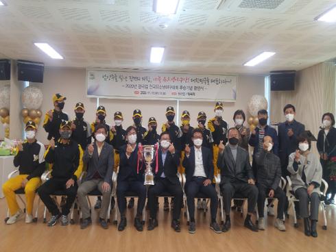 2020년 한국컵 (신한드림배) 전국유소년 야구대회 우승. / 사진제공=남양주시