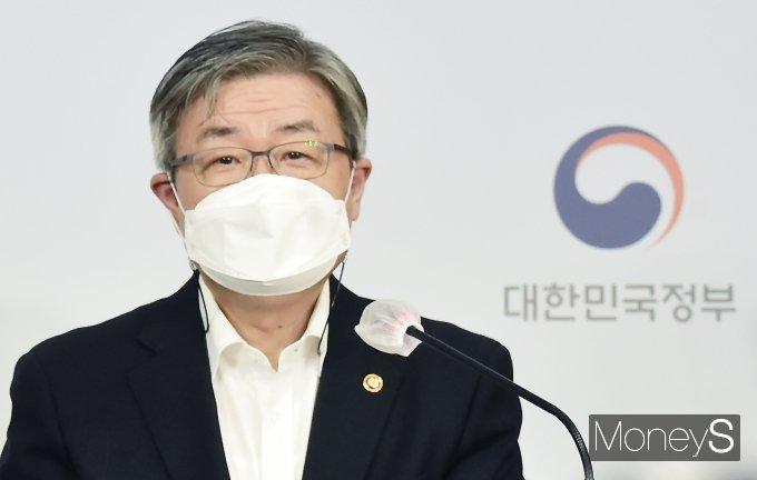 """[머니S포토] 이재갑 """"지연배송 발생시 택배기사 불이익 조치 못할 것"""""""
