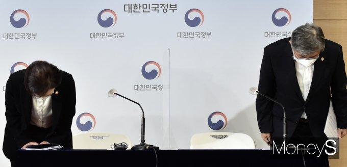 [머니S포토] 정부, 국민앞 '택배기사 과로방지 대책' 발표