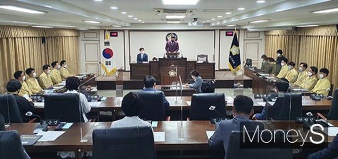 지난 9월 열린 중구의회 제229회 임시회 장면. /사진=김종연 기자