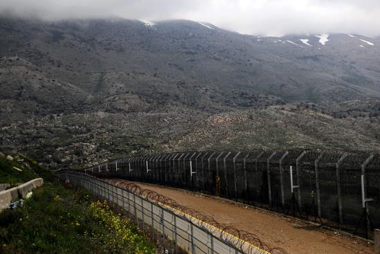 골란고원의 이스라엘-시리아 임시경계. /사진=로이터
