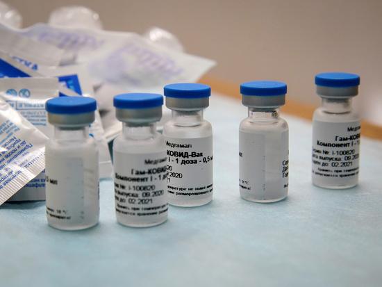 러시아가 지난 8월 승인한 코로나19 백신 '스푸트니크V'. /사진=로이터