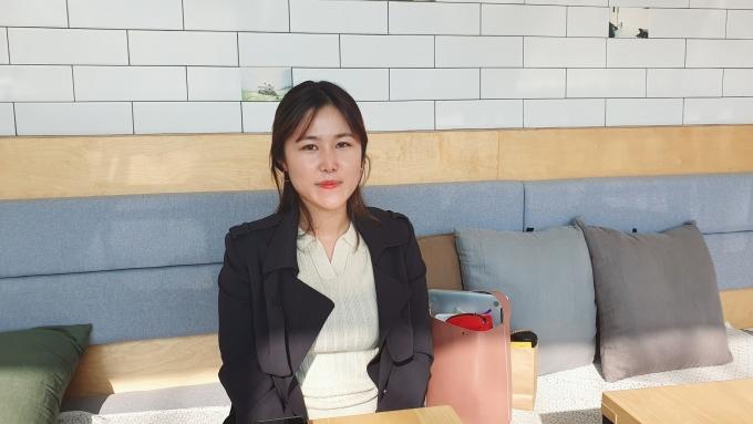 '할미넴'을공동 연출한 허유리 PD. /사진=강태연 기자