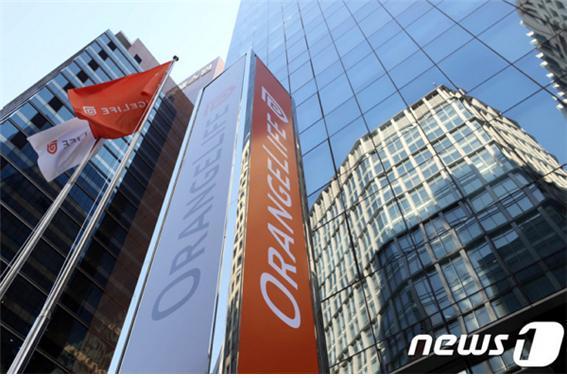 오렌지라이프가 19일부터 무해지 환급금형 상품 판매를 중단했다. 사진은 오렌지라이프 본사 전경./사진=뉴스1