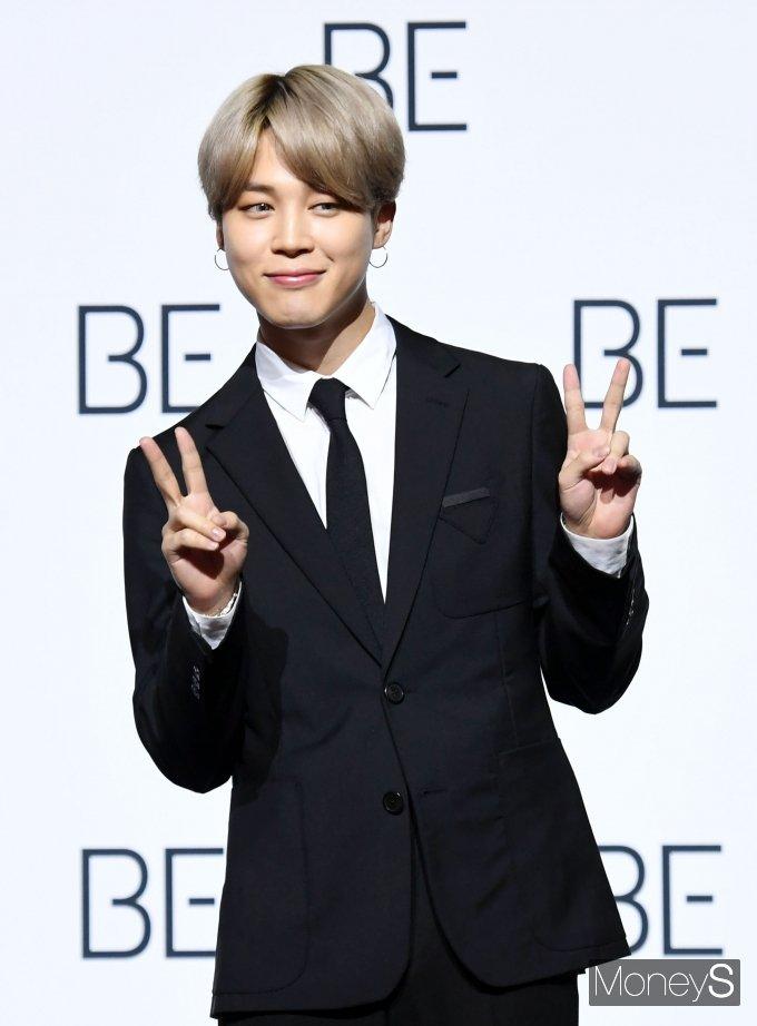[머니S포토] 방탄소년단(BTS) 지민 '매력적인 눈웃음'