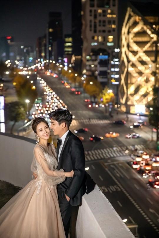 배우 한민채가 11월의 신부가 된다. /사진=웨딩매거진 웨딩21 제공